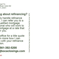 Thinking about refinancing?