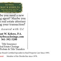 Maybe you need a new closing agent closing your transactions.