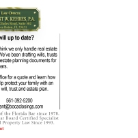 Is your will up to date?